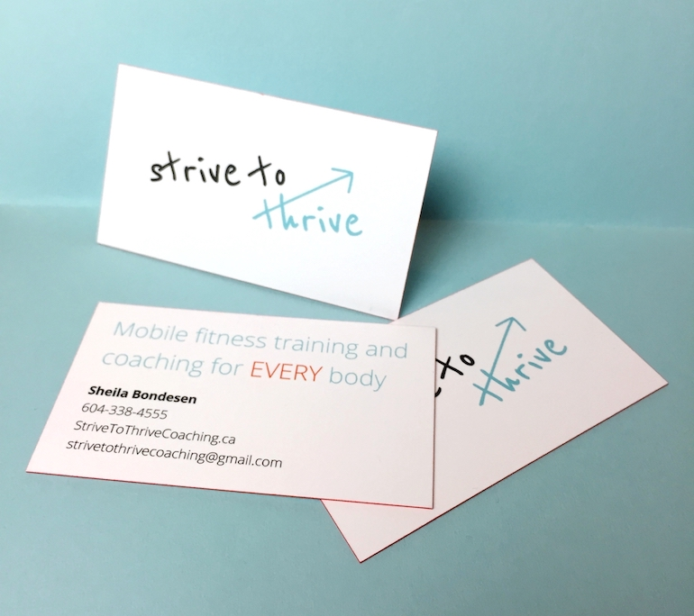 Strive to Thrive Coaching – Bread and Butter Creative